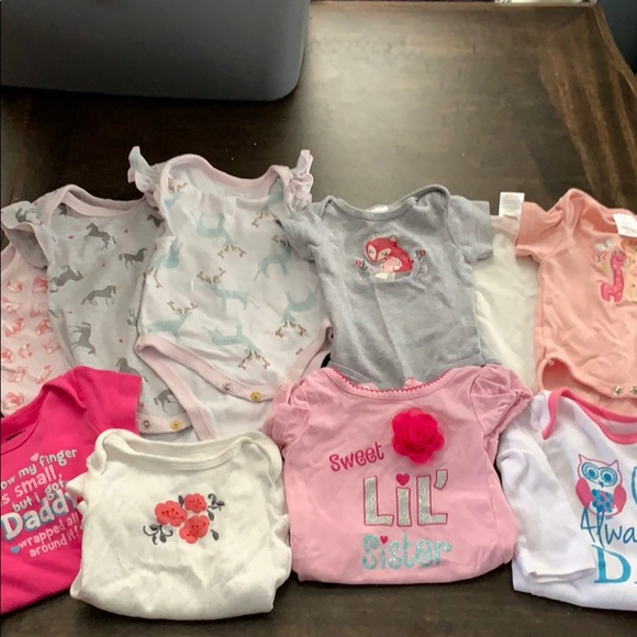 b9375d19c Rosie Pope One Pieces | Assorted Newborn And 03 Baby Girl Onesies ...